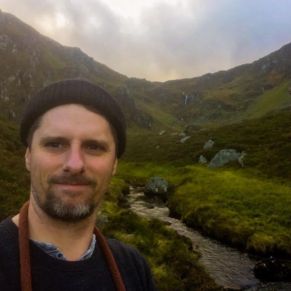 Matt Baker, LMT, Co-Owner Anchor Wellness in Corrie Fee, Scotland, UK