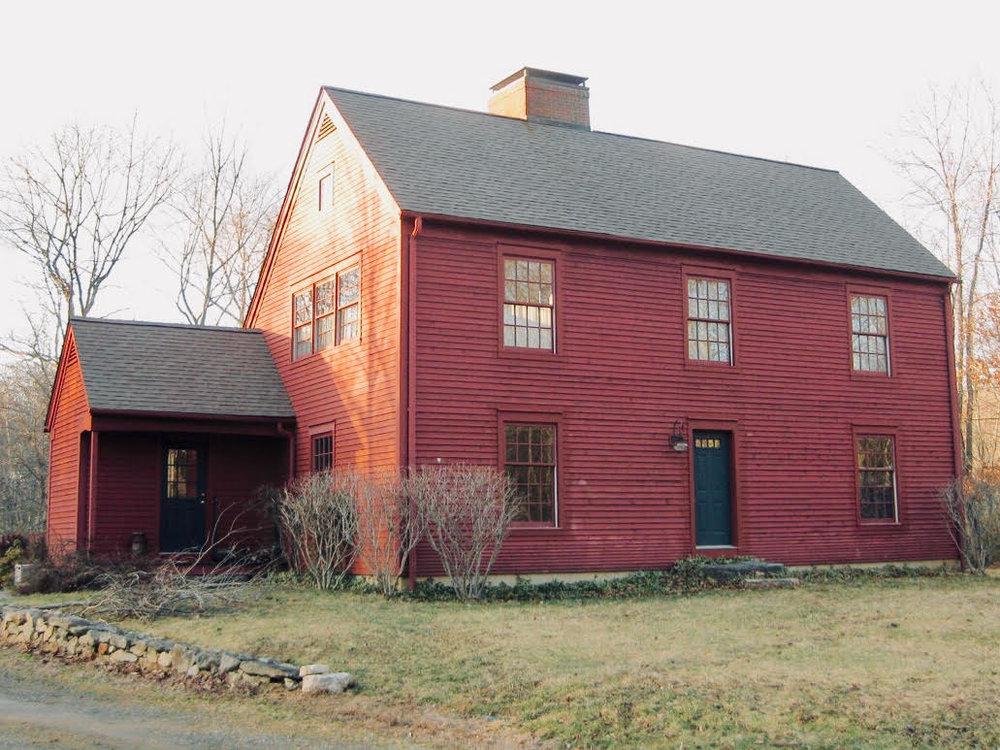 Pound Ridge SaltBox Style House
