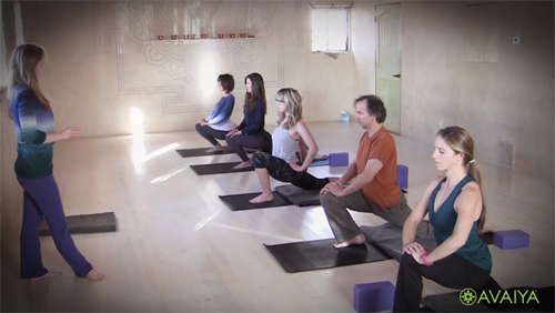 Yin: The Other Half of Yoga  Melissa was featured in this new documentary about Yin Yoga by AVIAYA -