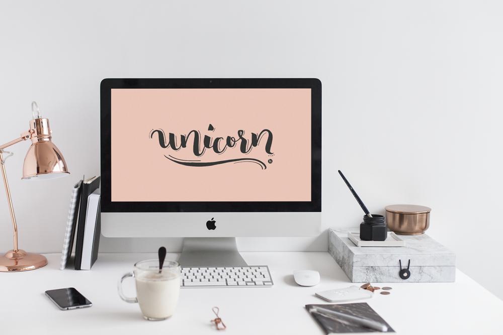 UNICORN - Fondo de pantalla para móvil y ordenador.