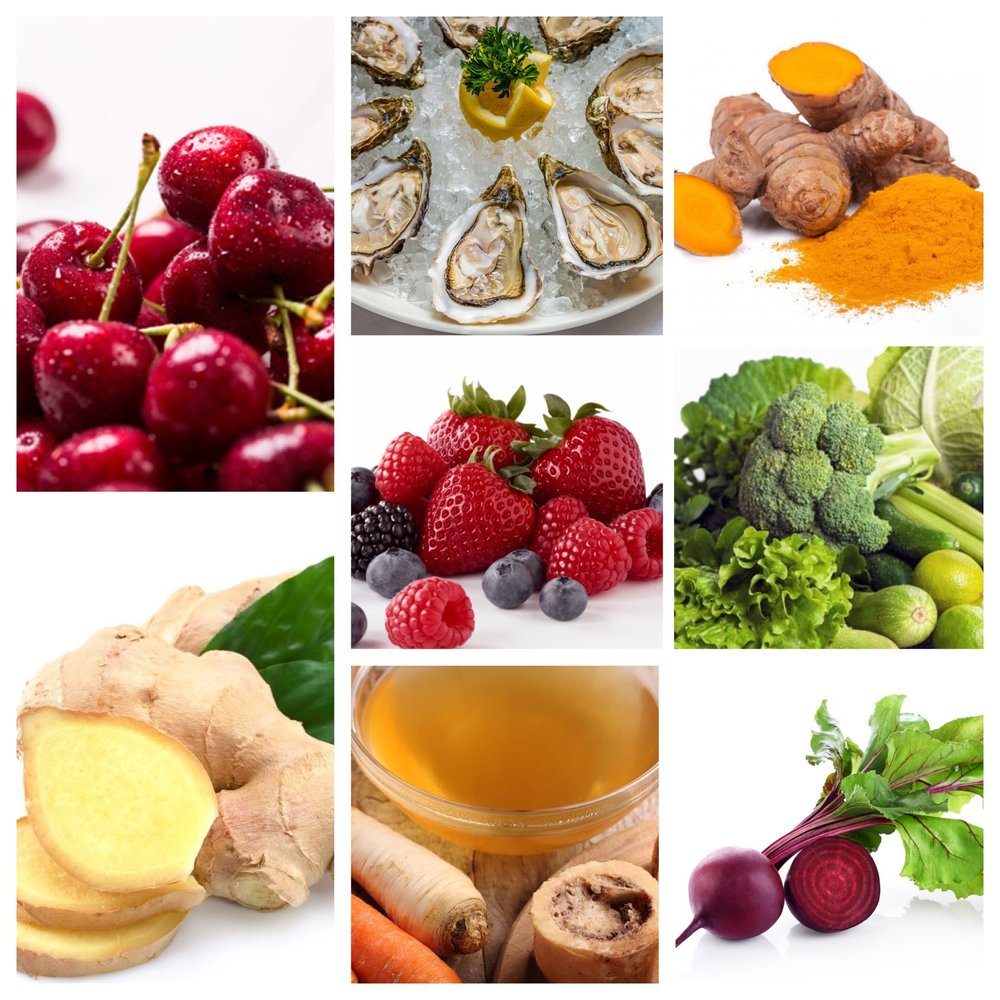 Anti-inflammatory         Lifestyle & Foods -