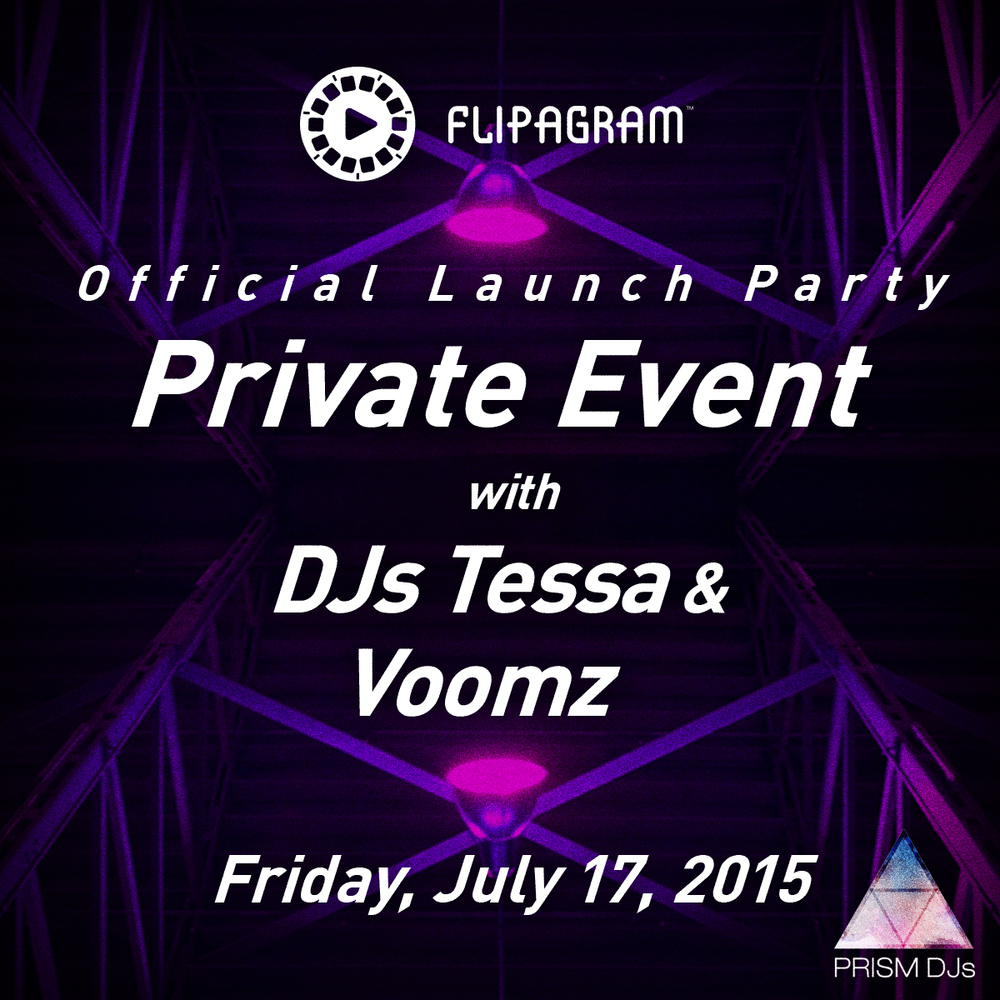 flipagram official launch party