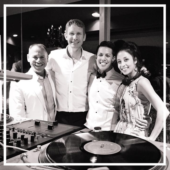 Mike & Jack's Wedding: Sounds curated by DJ Tessa Young, Prism DJs