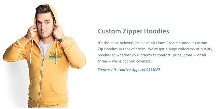 Custom Zipper Hoodie