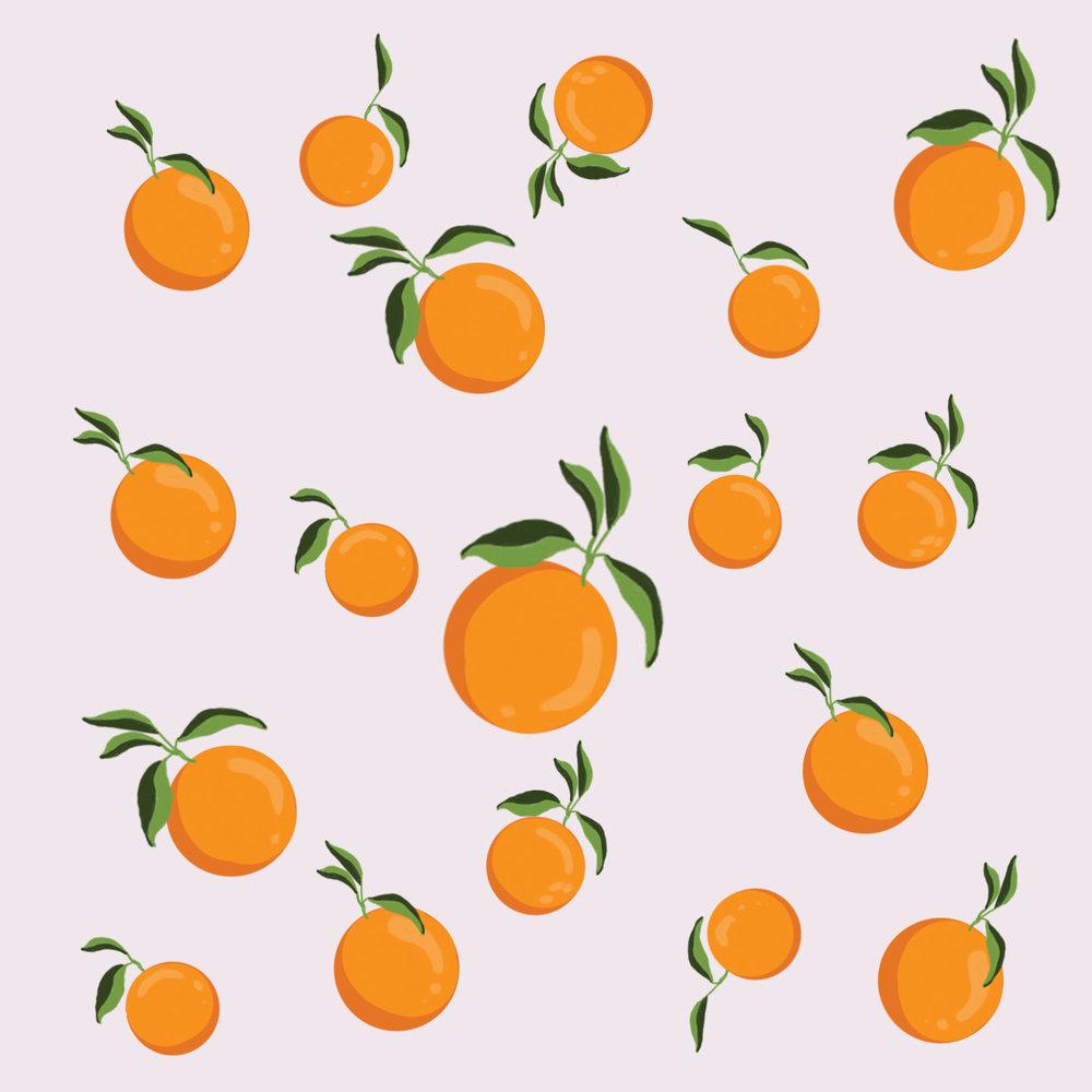 Oranges Pattern