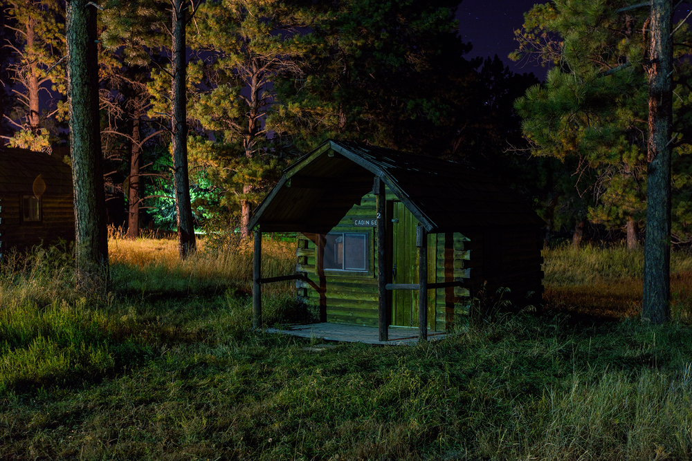 'Cabin 6E,' a digital C-Print photograph by Remi Thornton.