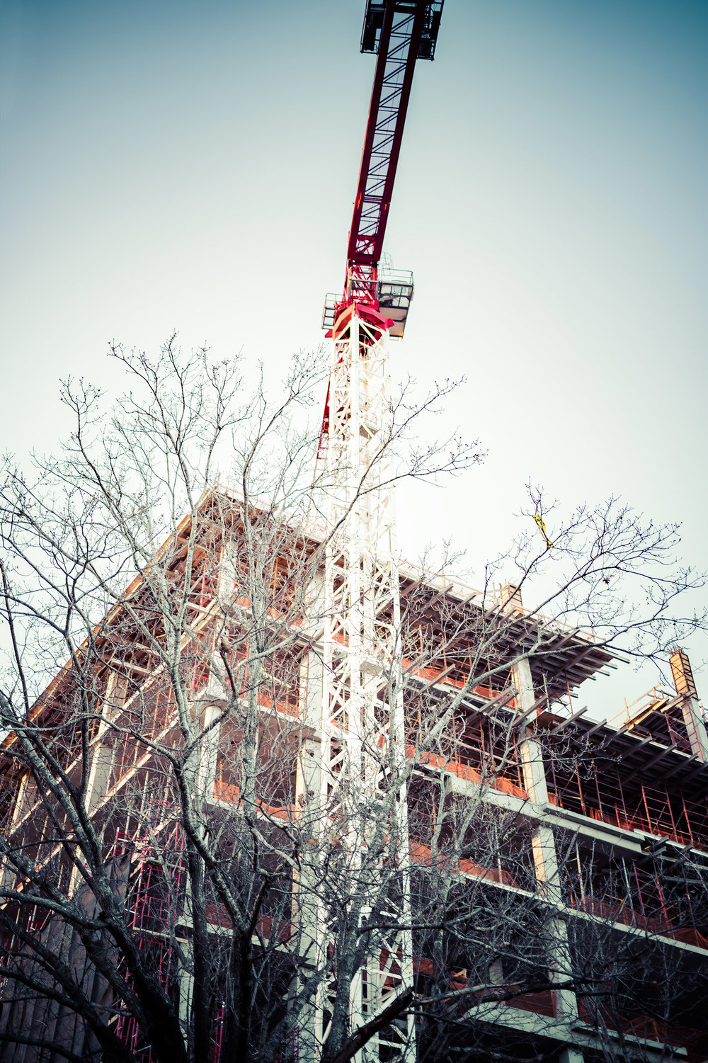 Mondrian at the Musuems—Construction Progress, Feb 2018