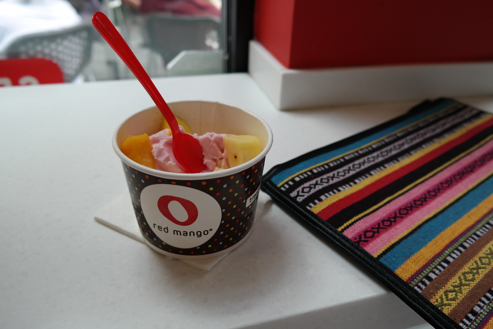 Red Mango at City Centre Houston TX.