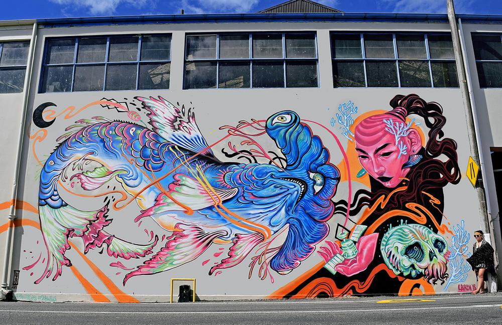 Napier, New Zealand for Pangeaseed