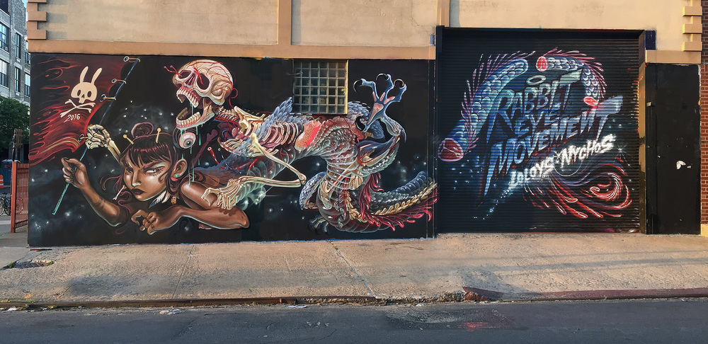 (Lys and Nychos) for Bushwick Collective Block party