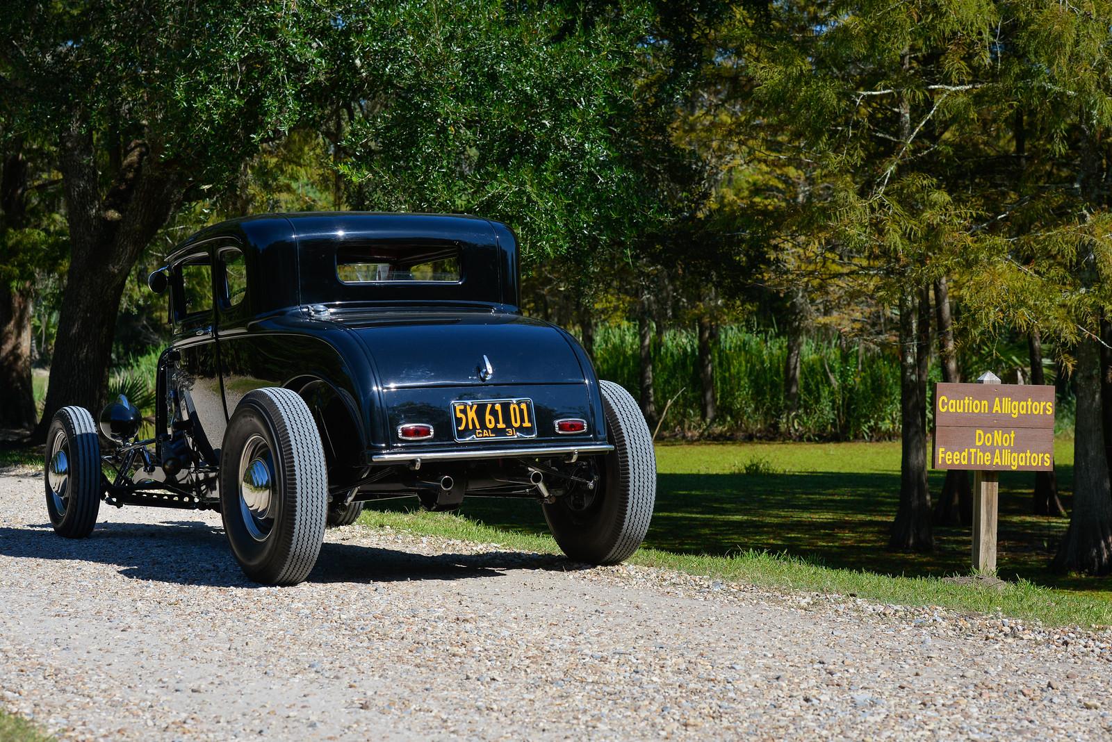 Bayou Round Up - Antique car show lafayette la