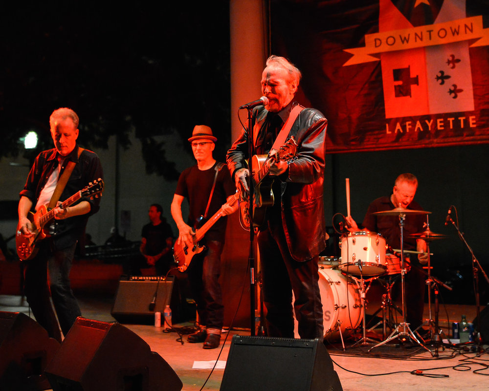 The Blasters playing Downtown Alive! in 2016
