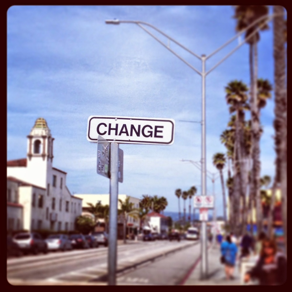 Just what I was looking for. #change #SantaCruz
