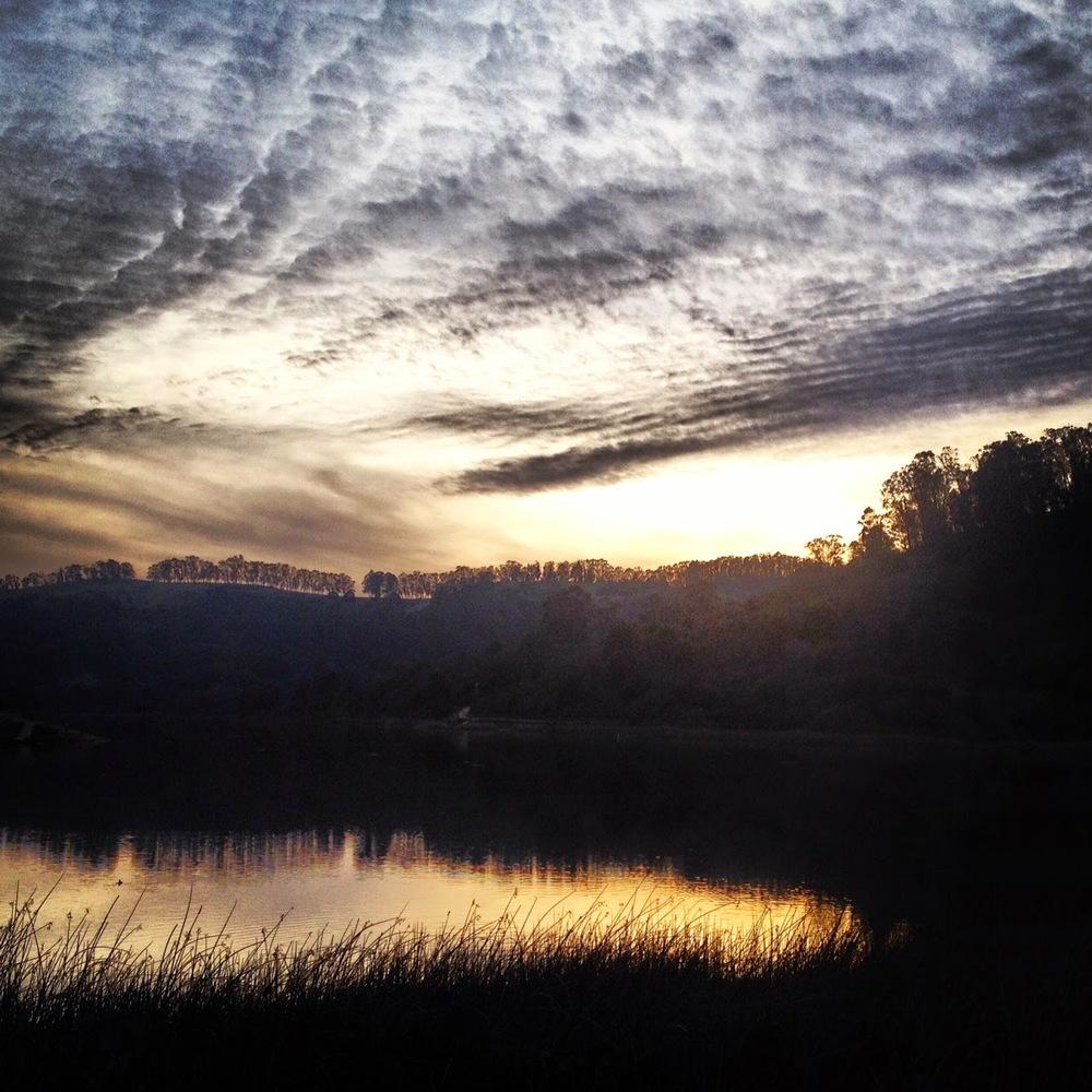 Chasing the sunset tonight...