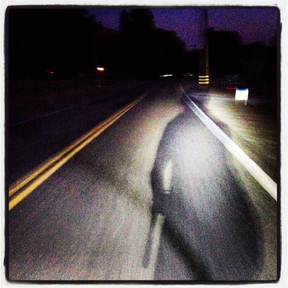 Night riding near Cull Canyon...