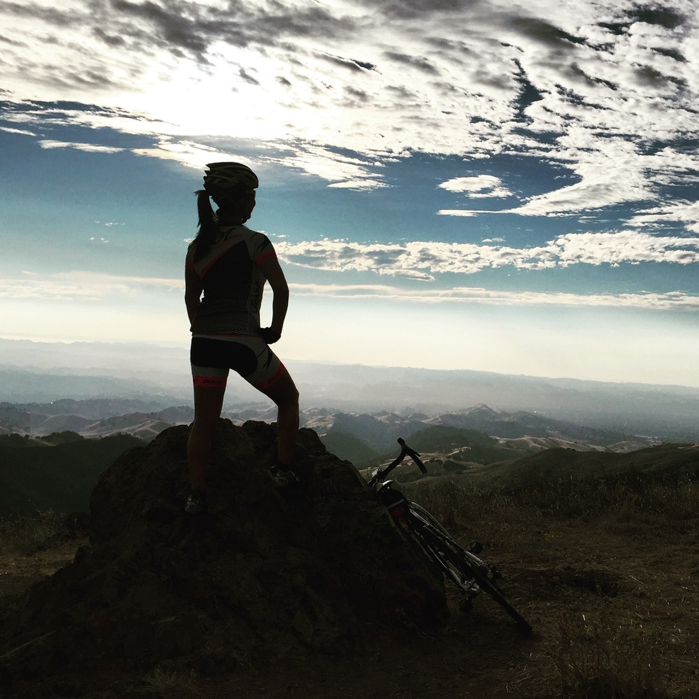 Chasing the sunset on Mt. Diablo...
