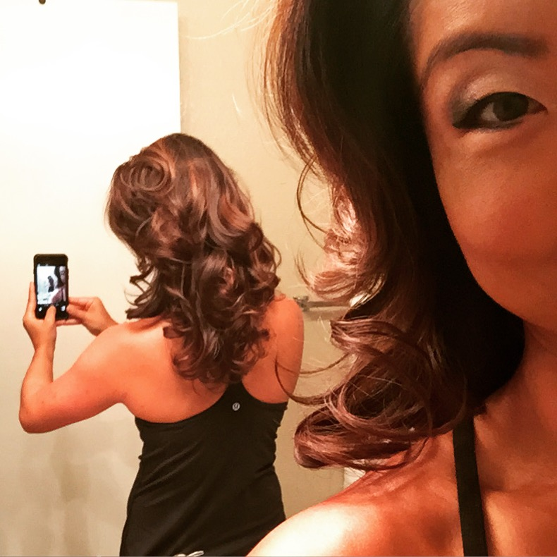 Embracing the new fall season with a new fall hair color.... #ombrelove
