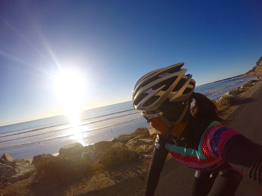 Coast ride from Santa Cruz to Half Moon Bay and back...