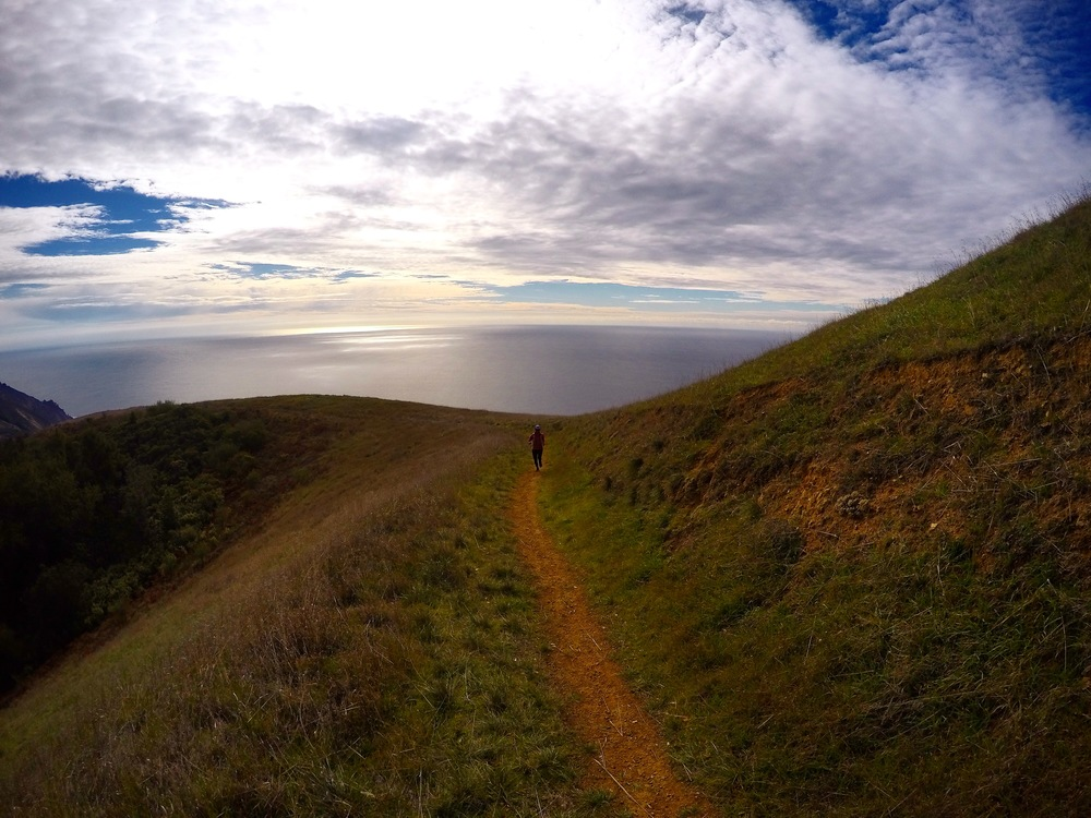 Boronda Ridge Trail, Big Sur
