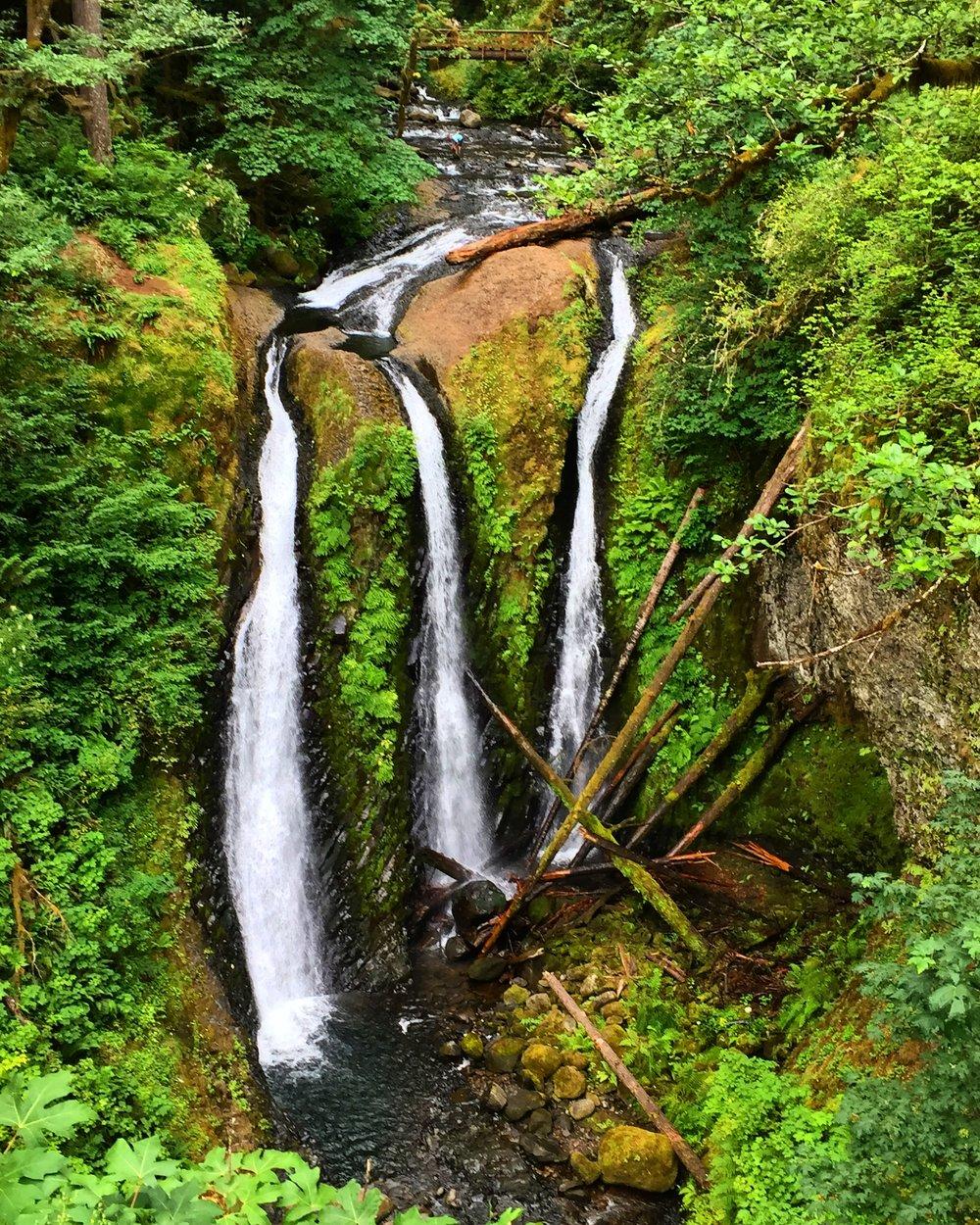 Triple Falls, Oregon