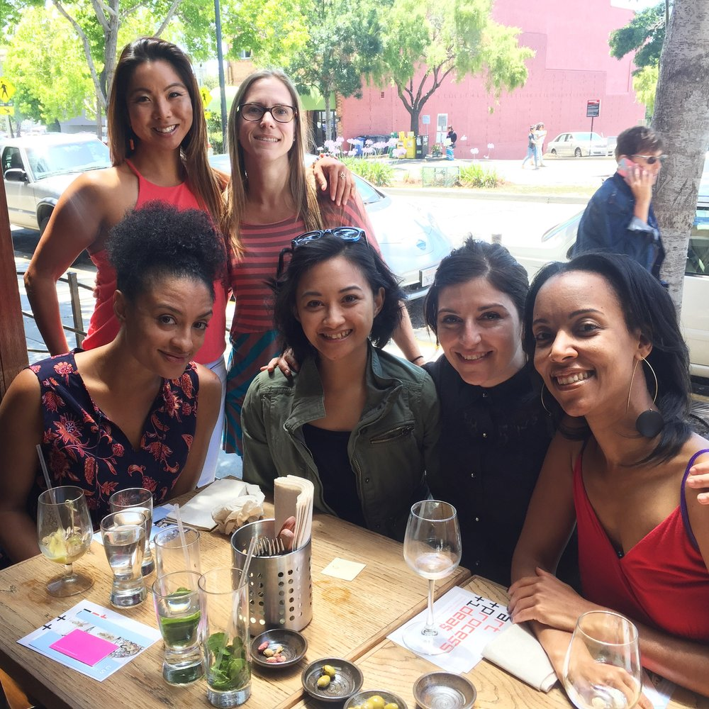 "Brunchin' with the best! ""Women in Art: Inaugural Business Brunch"""