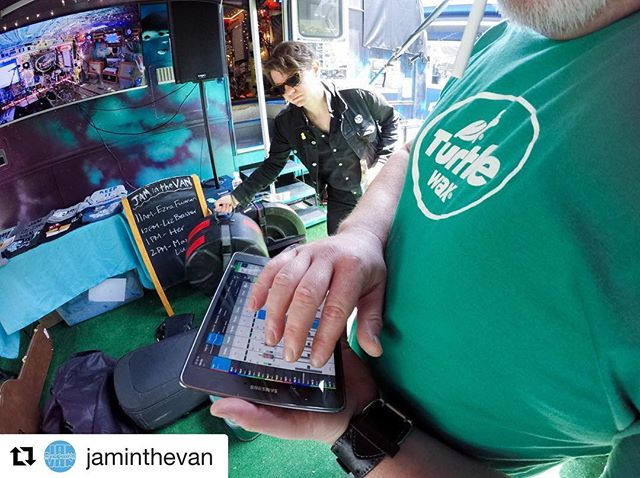 Had such a great time filming a @jaminthevan session today with @lizbrasher that I crashed their ig feed.
