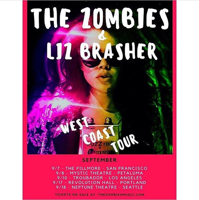 West Coast, we'll be back in September with the Zombies!
