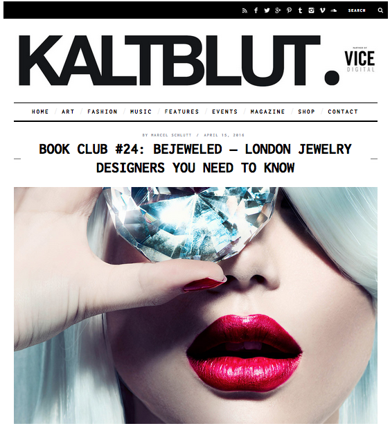 KALTBLUT MAGAZINE | BEJEWELED LONDON JEWELRY DESIGNERS YOU NEED TO KNOW