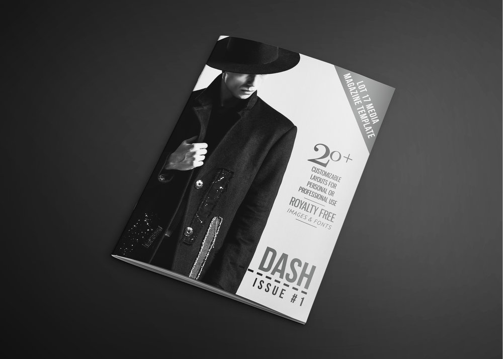 Dash Magazine Template | Lot 17 Media