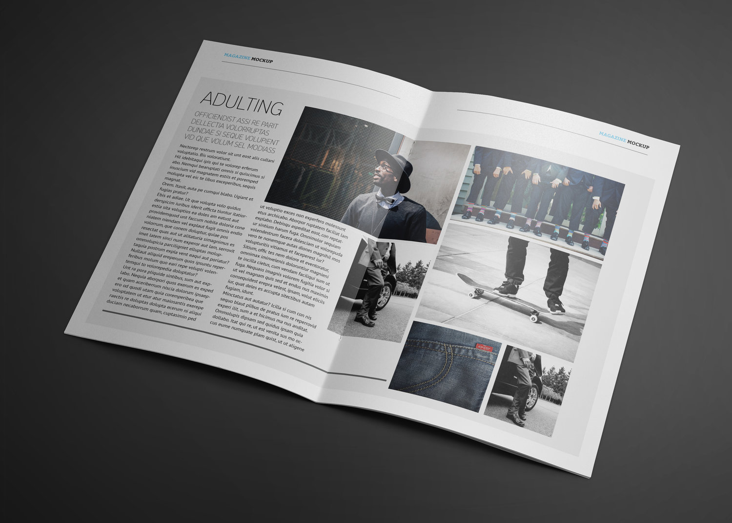 Our Dash Magazine Template Is Here Lot 17 Media