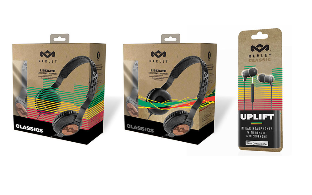 Package Design - House of Marley