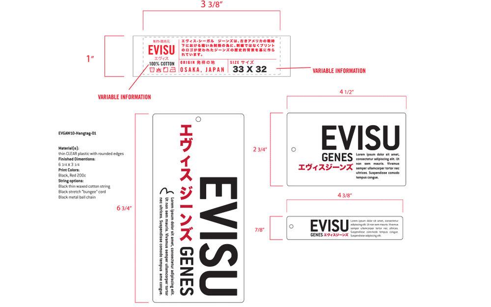 Logo Design & Rebranding - Evisu
