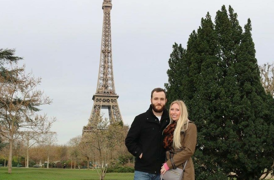 Our babymoon in Paris, January 2016