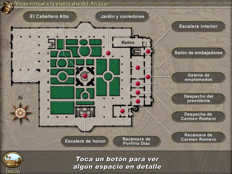 Interactive floorplan