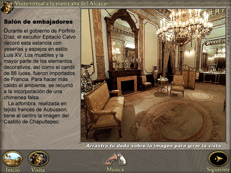 360º photo of the Ambassador's Salon