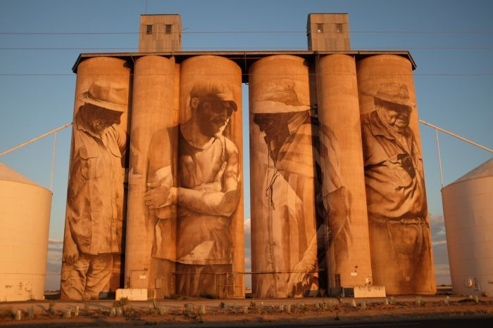 Photo by Guido van Helten