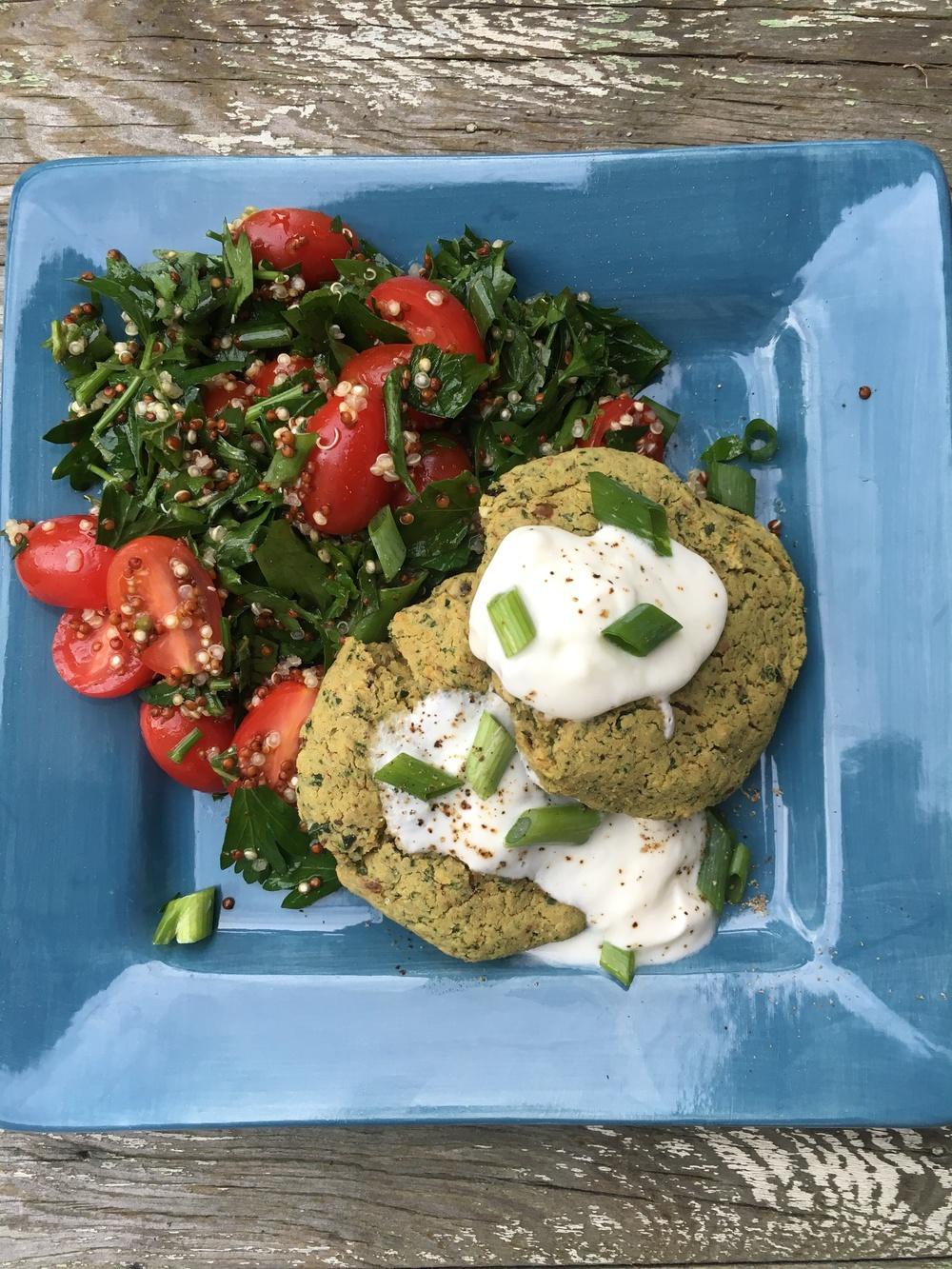 Blue apron falafel - Blue Apron Falafel 75