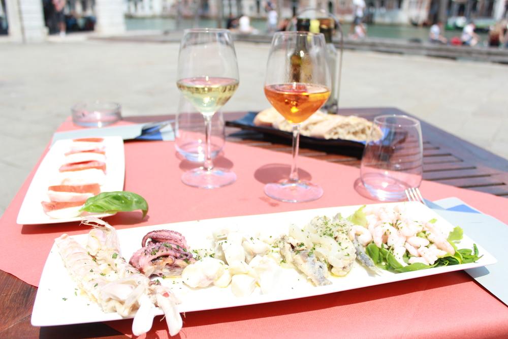 Lunch near the Rialto Market