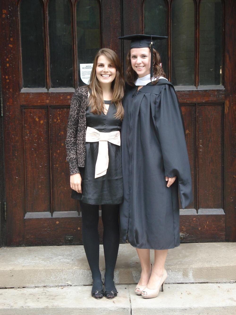 Kathy's graduation
