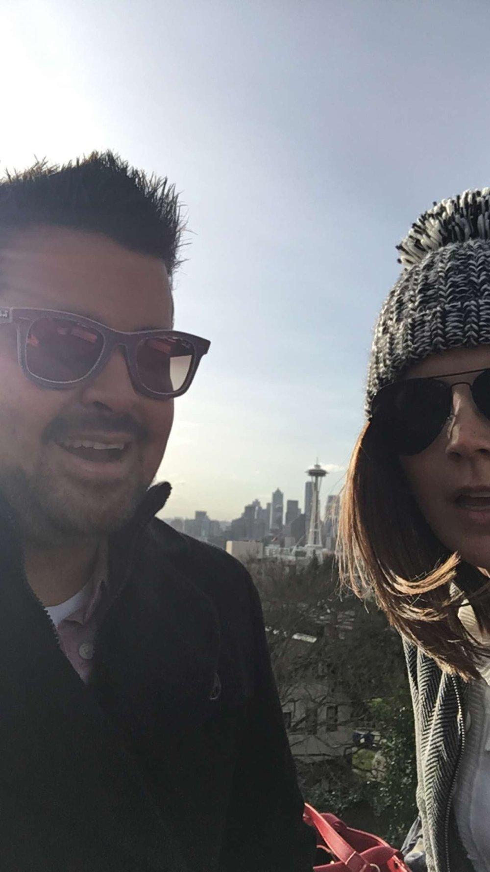 Seattle, Washington w/ my love. December, 2016