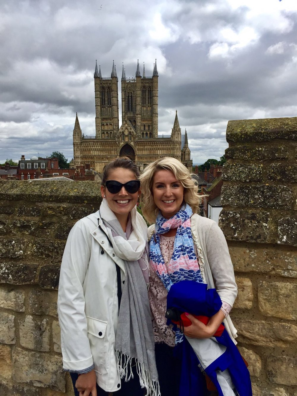 Quick stop in Lincoln, England to visit friends! August, 2017
