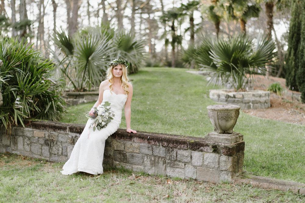 Norfolk Botanical Gardens with Hampton Roads Wedding Florist