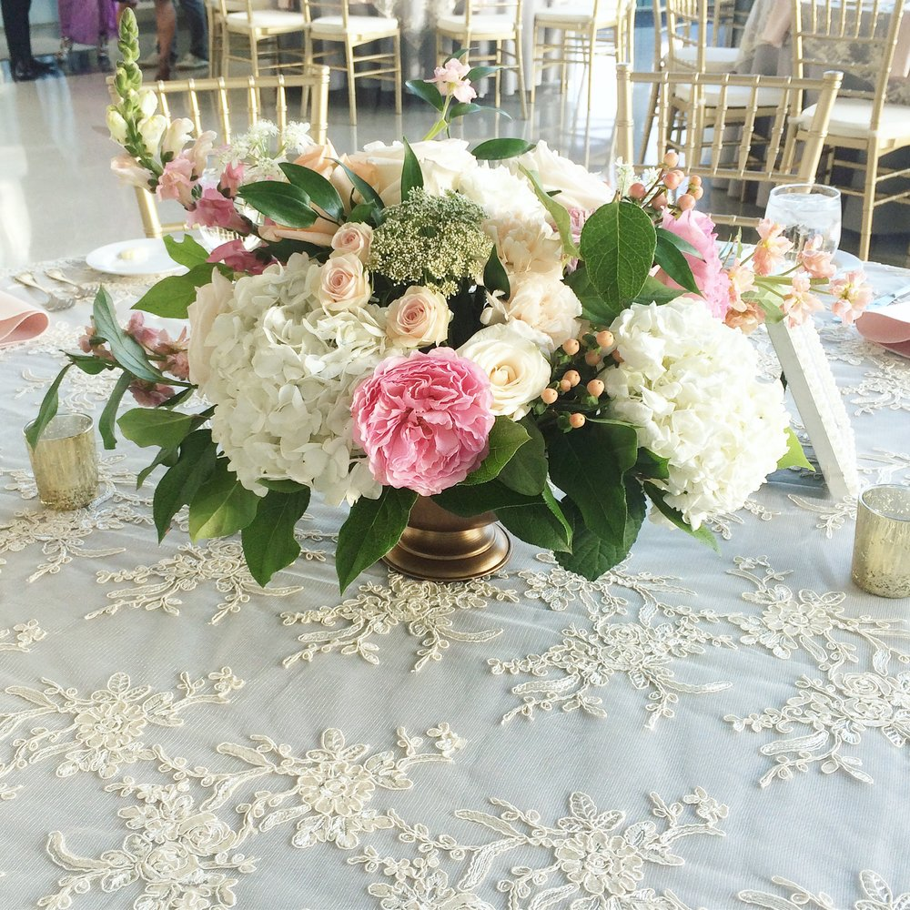 Courtney Inghram Events and Floral Design Norfolk, Virginia Half Moone Cruise Terminal Wedding