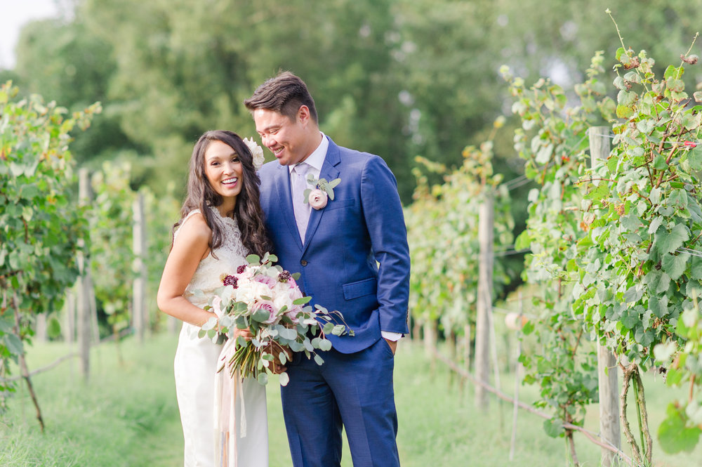 Courtney Inghram Events Richmond Wedding Florist at Ashton Creek Vineyard