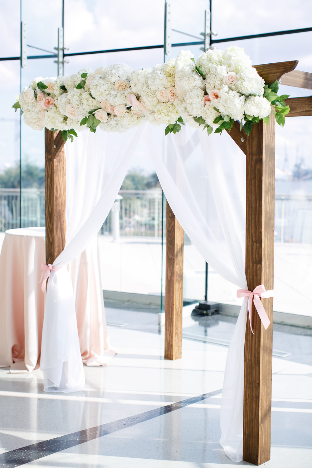 Courtney Inghram Richmond Wedding Florist Half Moone Norfolk Virginia Wedding