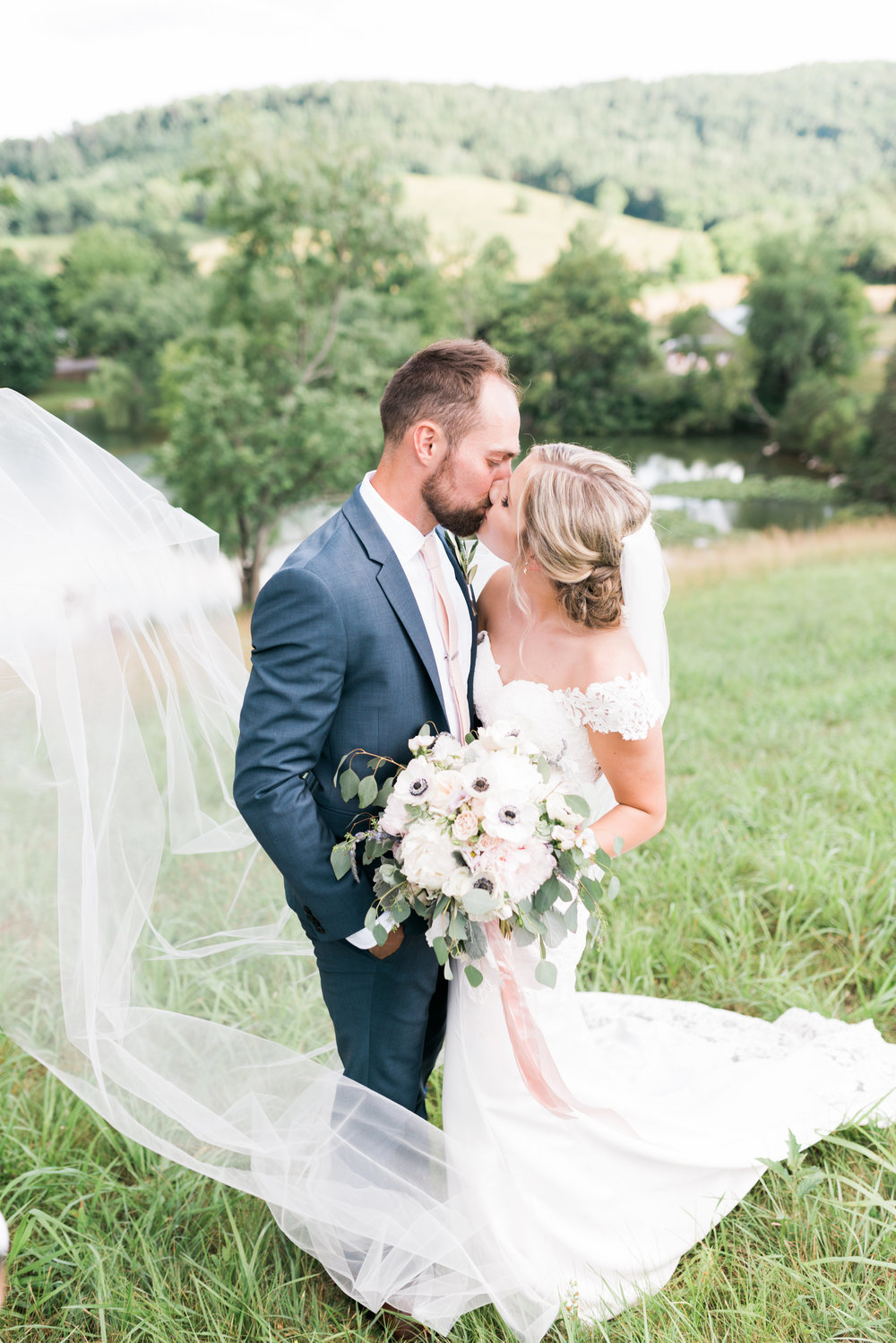 Courtney Inghram Big Spring Farm Wedding Florist