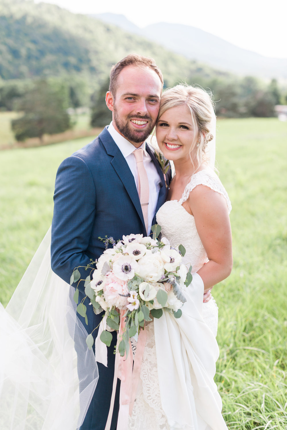 Courtney Inghram Virginia Wedding Florist Big Spring Farm Lexington, Virginia