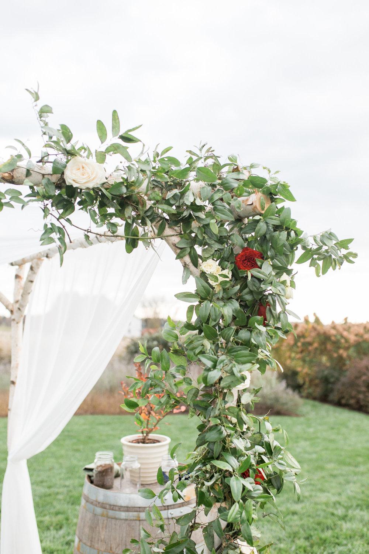 Courtney Inghram Early Mountain Vineyards Charlottesville Virginia Wedding Florist