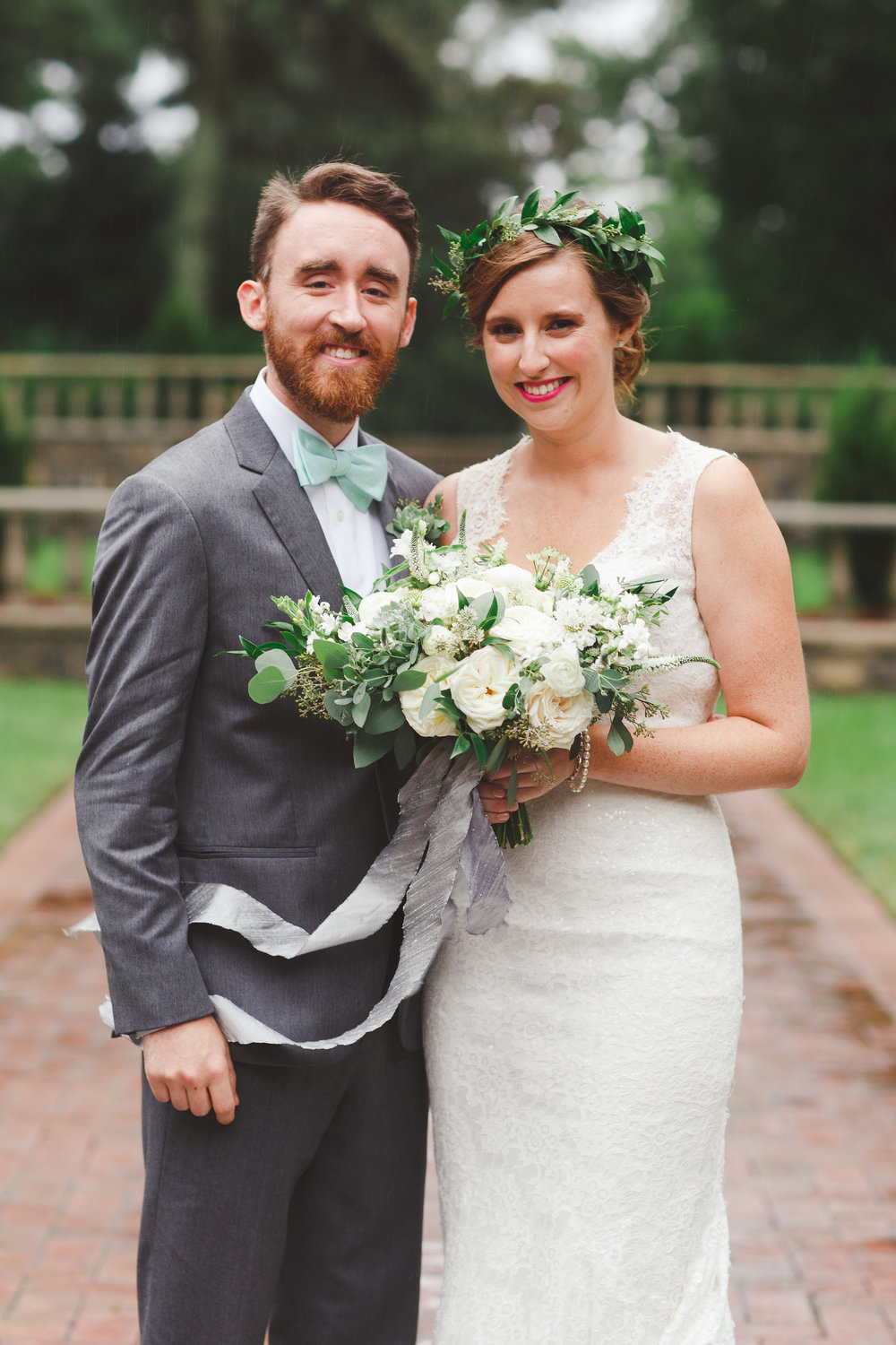 Courtney Inghram Norfolk Botanical Gardens Wedding Florist Hampton Roads