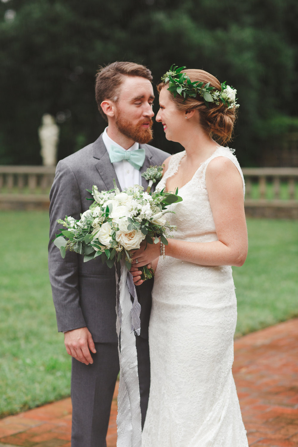 Courtney Inghram Norfolk Botanical Gardens Wedding Florist